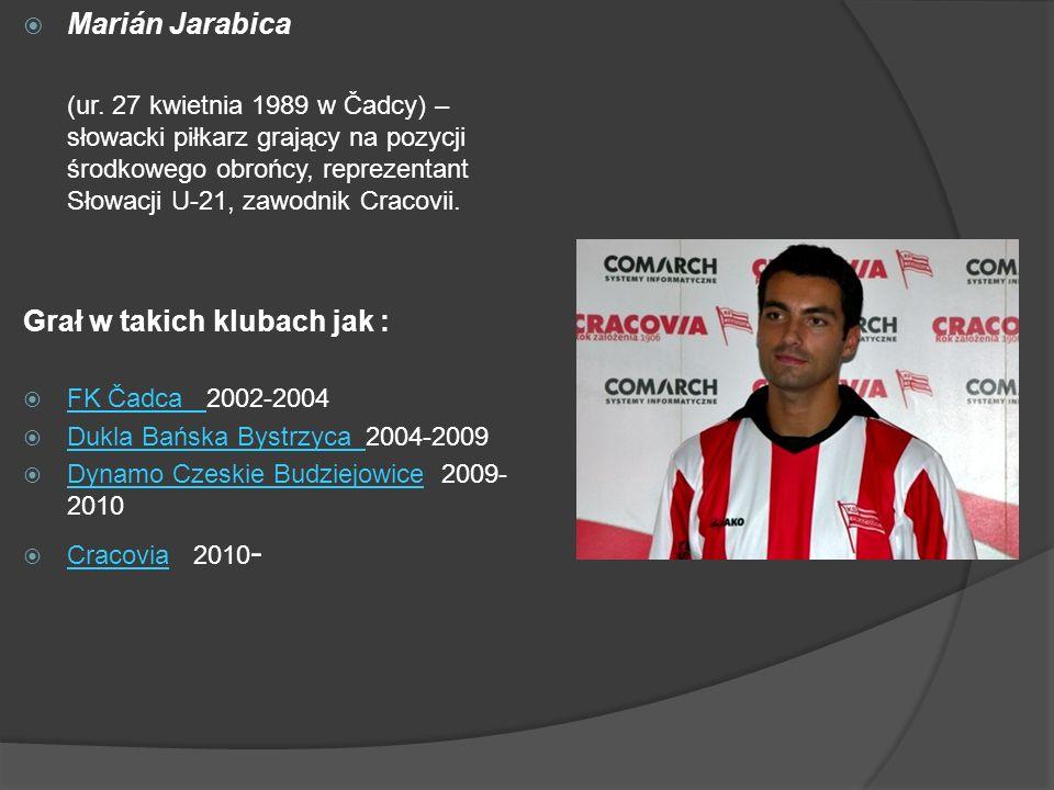 Grał w takich klubach jak :