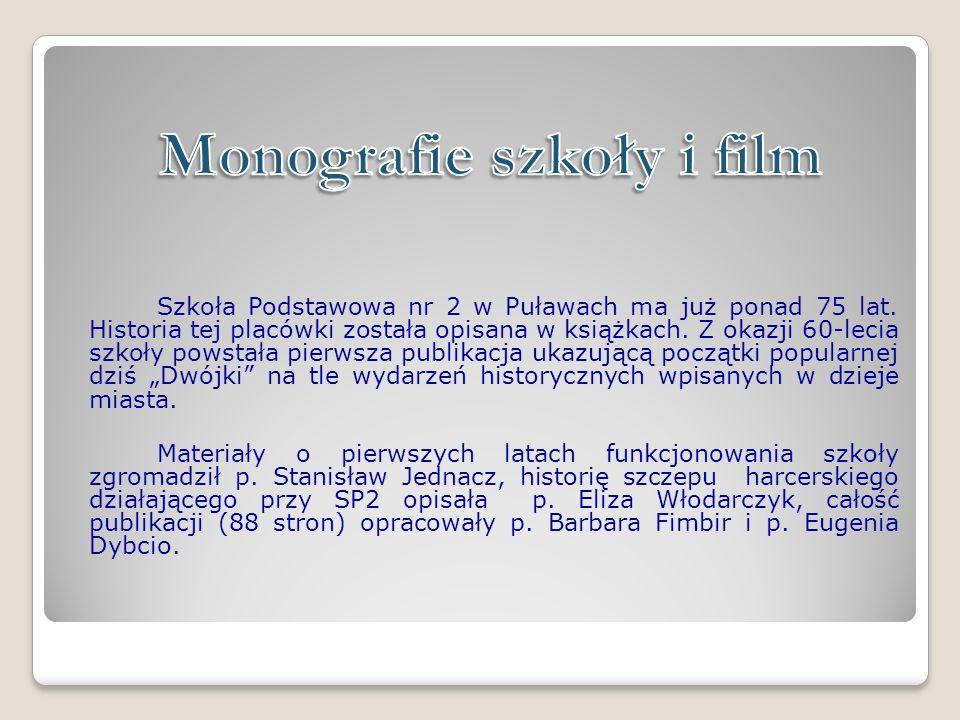 Monografie szkoły i film