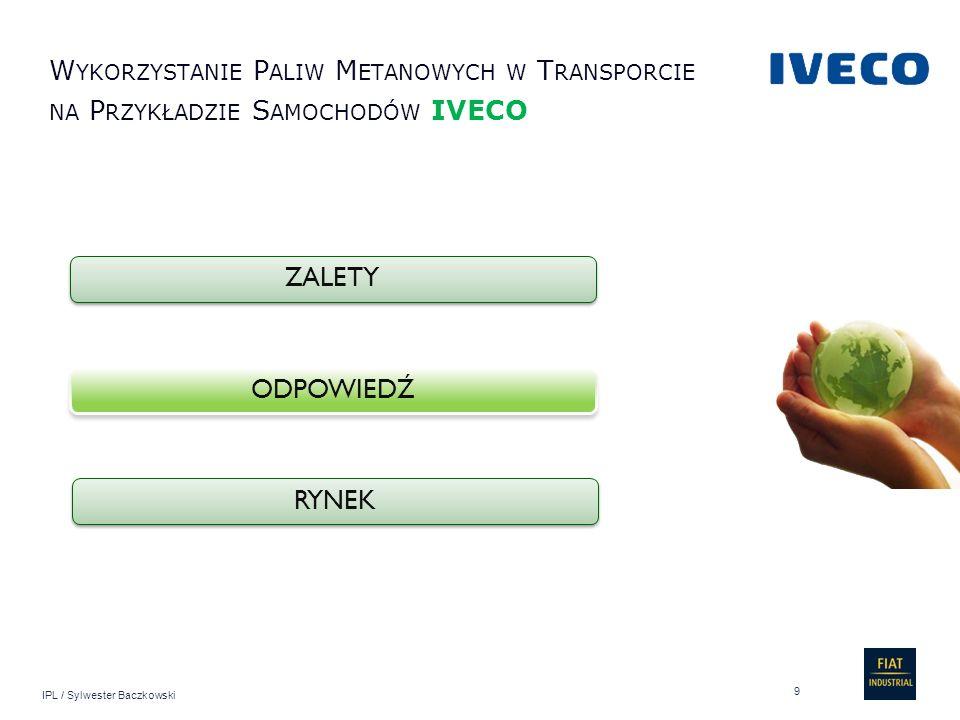 Wykorzystanie Paliw Metanowych w Transporcie na Przykładzie Samochodów IVECO