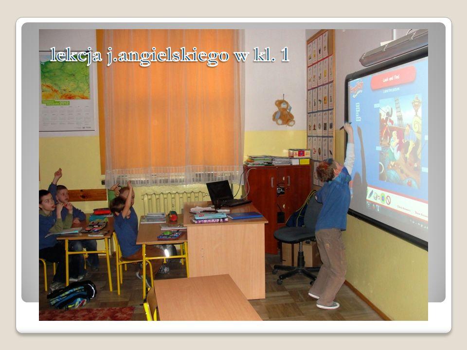 lekcja j.angielskiego w kl. 1