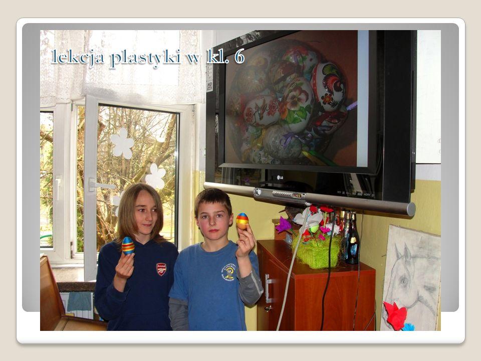 lekcja plastyki w kl. 6