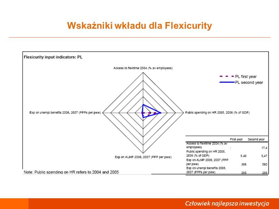 Wskaźniki wkładu dla Flexicurity