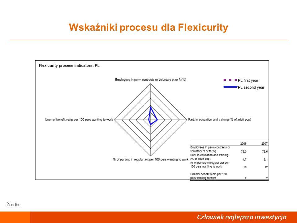 Wskaźniki procesu dla Flexicurity