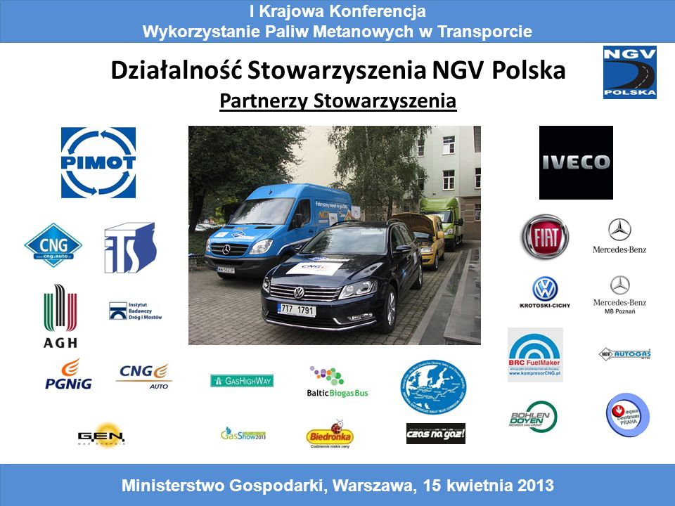 Działalność Stowarzyszenia NGV Polska Partnerzy Stowarzyszenia