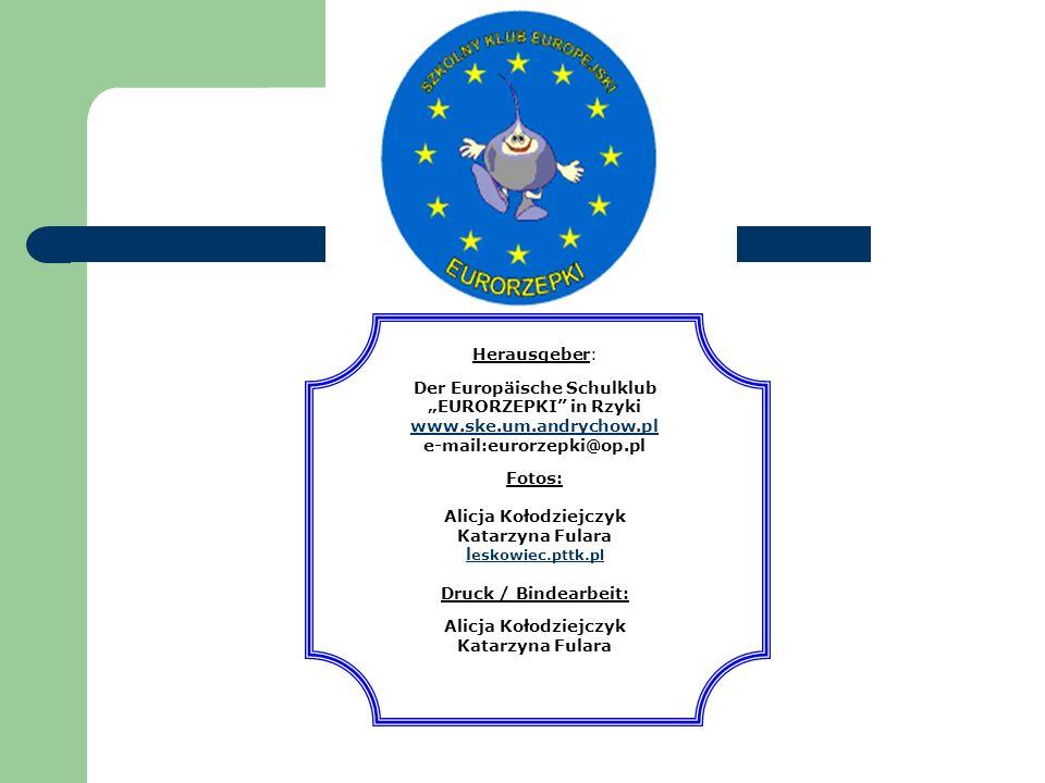 """Der Europäische Schulklub """"EURORZEPKI in Rzyki"""