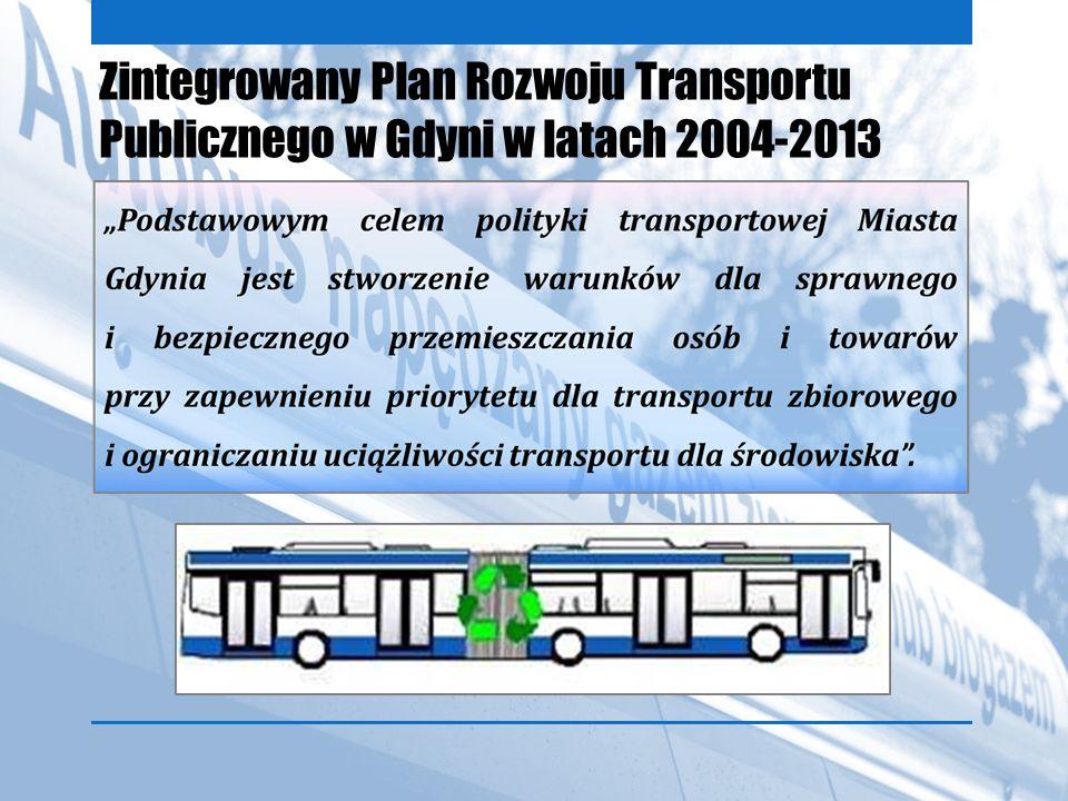 Zintegrowany Plan Rozwoju Transportu Publicznego w Gdyni w latach 2004-2013