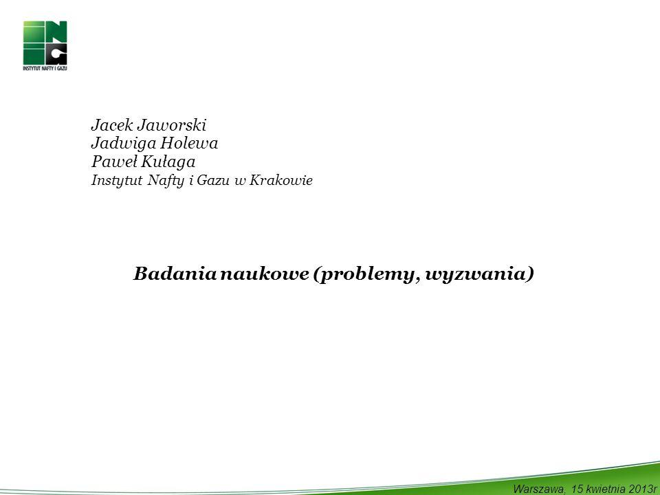 Badania naukowe (problemy, wyzwania)