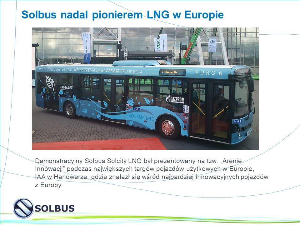 Solbus nadal pionierem LNG w Europie