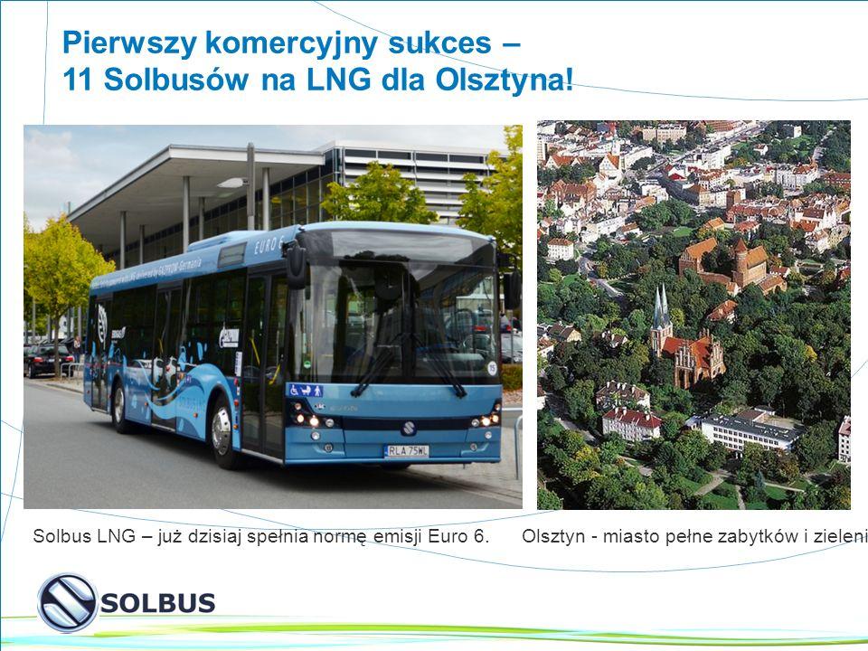 Pierwszy komercyjny sukces – 11 Solbusów na LNG dla Olsztyna!
