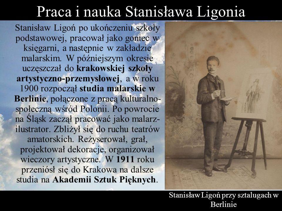 Praca i nauka Stanisława Ligonia