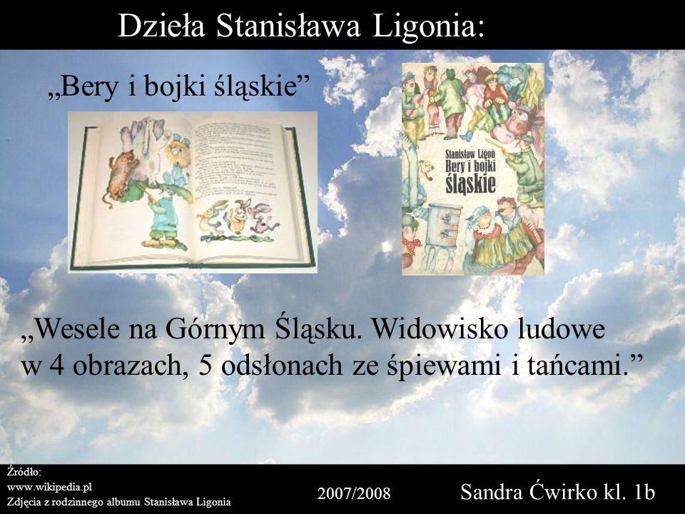 Dzieła Stanisława Ligonia:
