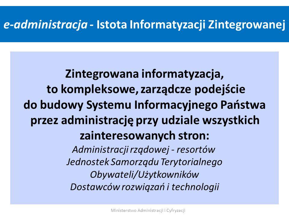 e-administracja - Istota Informatyzacji Zintegrowanej
