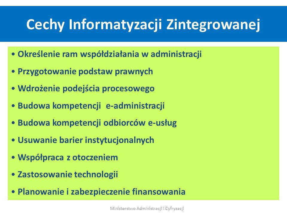 Cechy Informatyzacji Zintegrowanej