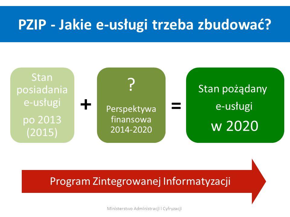 PZIP - Jakie e-usługi trzeba zbudować