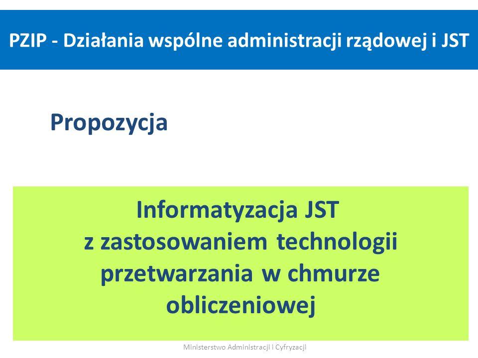 PZIP - Działania wspólne administracji rządowej i JST