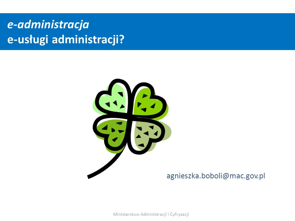 e-administracja e-usługi administracji