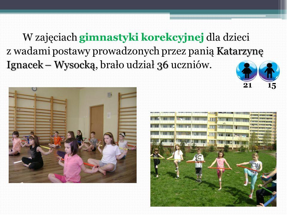 W zajęciach gimnastyki korekcyjnej dla dzieci