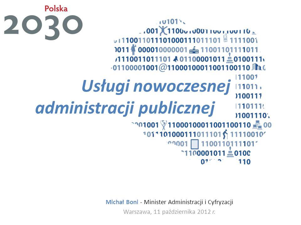 Usługi nowoczesnej administracji publicznej