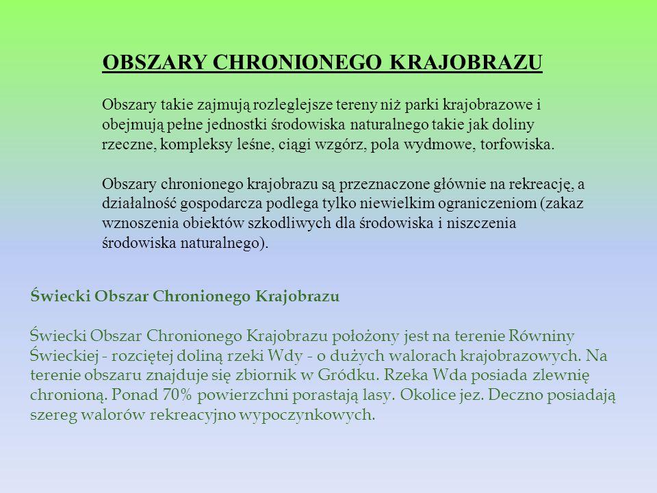 OBSZARY CHRONIONEGO KRAJOBRAZU