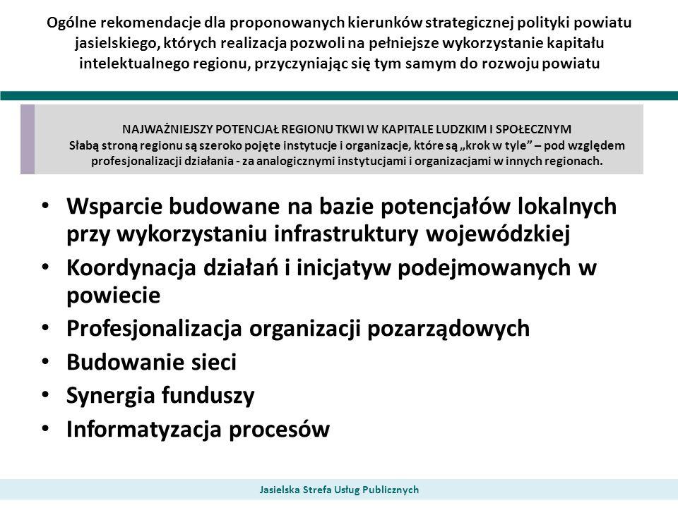 Koordynacja działań i inicjatyw podejmowanych w powiecie