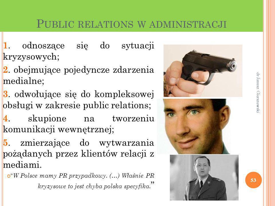 Public relations w administracji