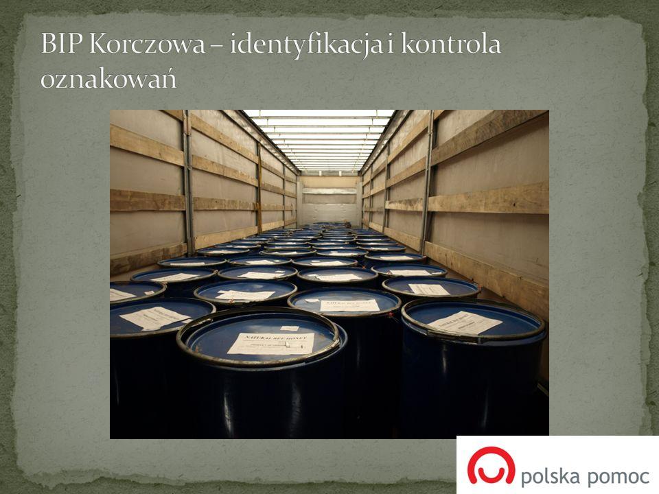BIP Korczowa – identyfikacja i kontrola oznakowań