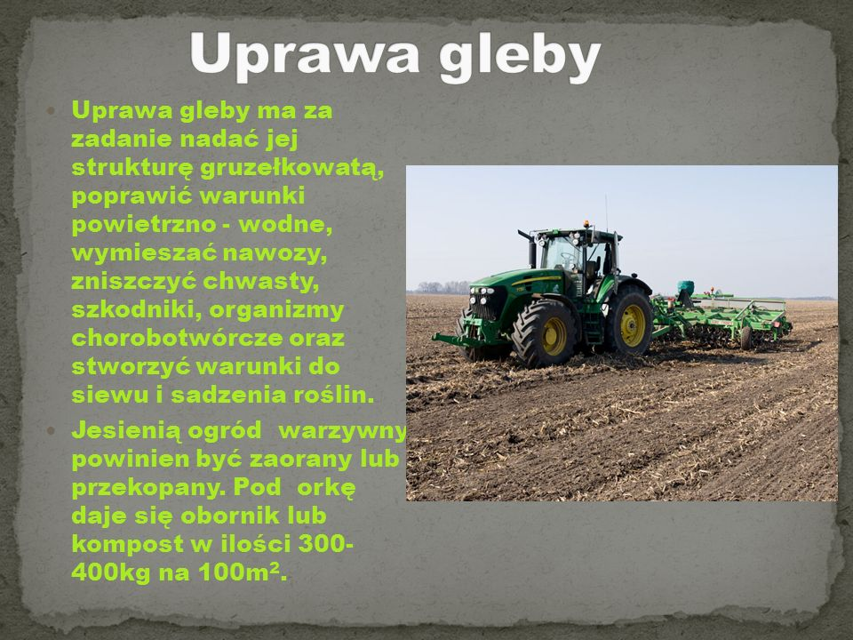 Uprawa gleby