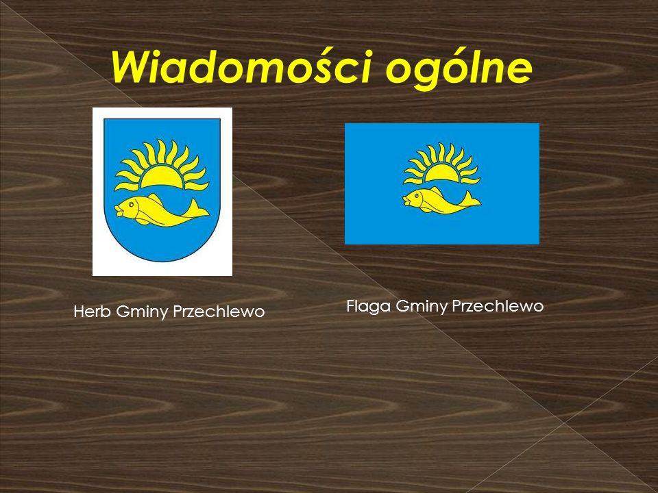 Wiadomości ogólne Flaga Gminy Przechlewo Herb Gminy Przechlewo