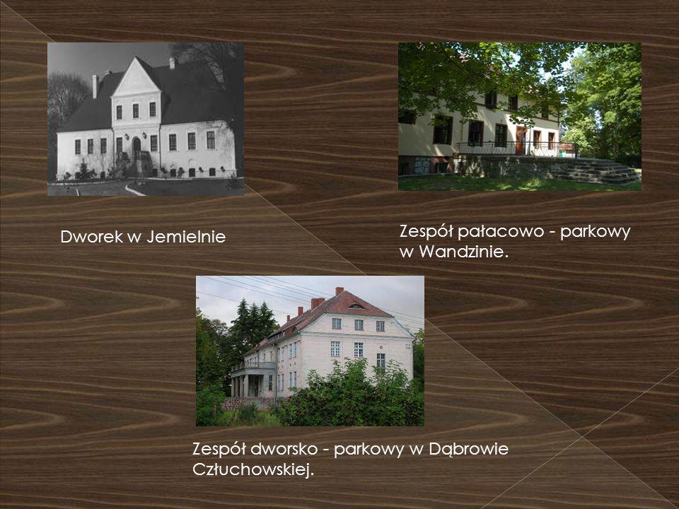 Zespół pałacowo - parkowy w Wandzinie. Dworek w Jemielnie