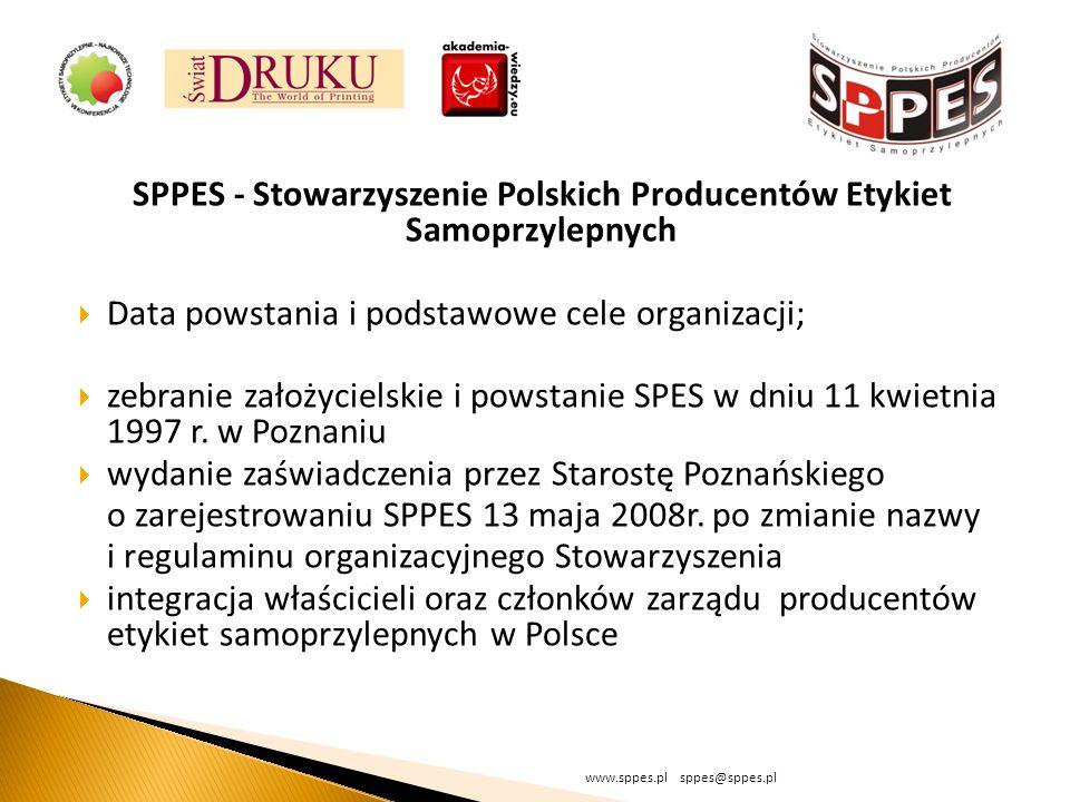 SPPES - Stowarzyszenie Polskich Producentów Etykiet Samoprzylepnych