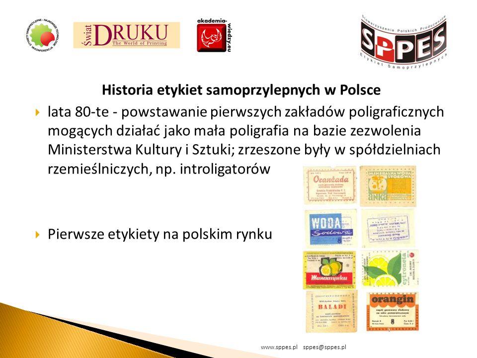 Historia etykiet samoprzylepnych w Polsce