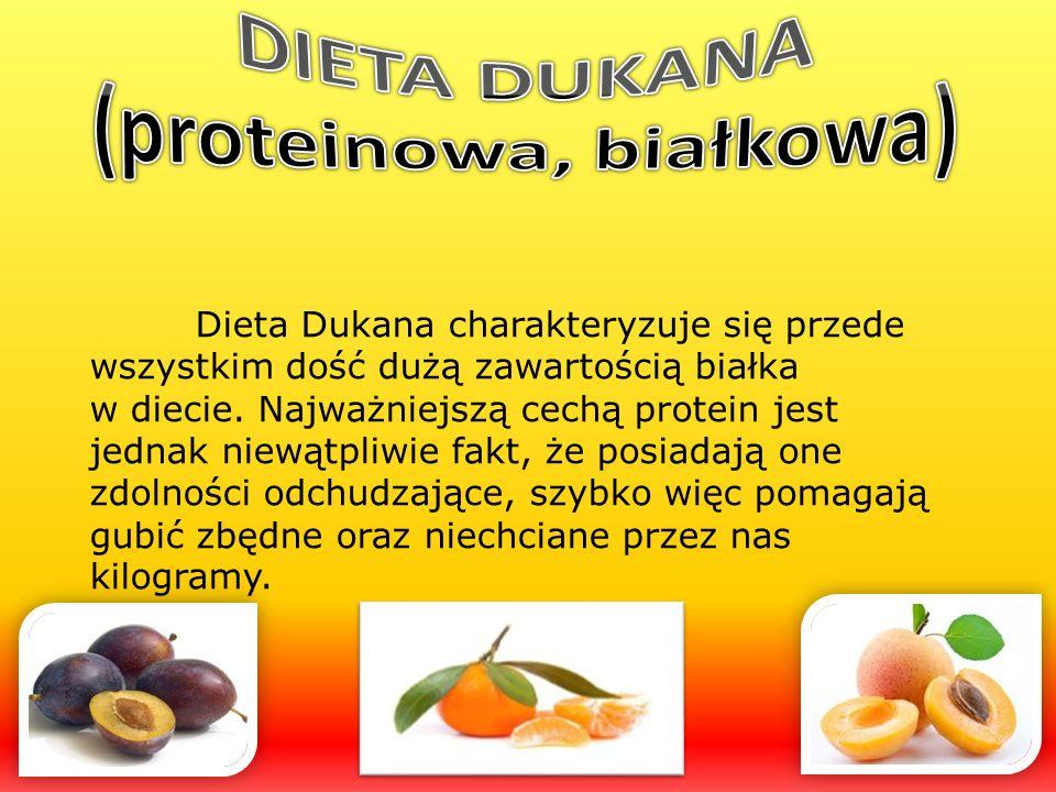 DIETA DUKANA (proteinowa, białkowa)