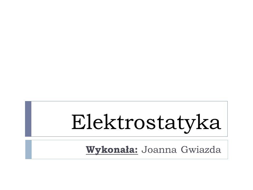 Wykonała: Joanna Gwiazda