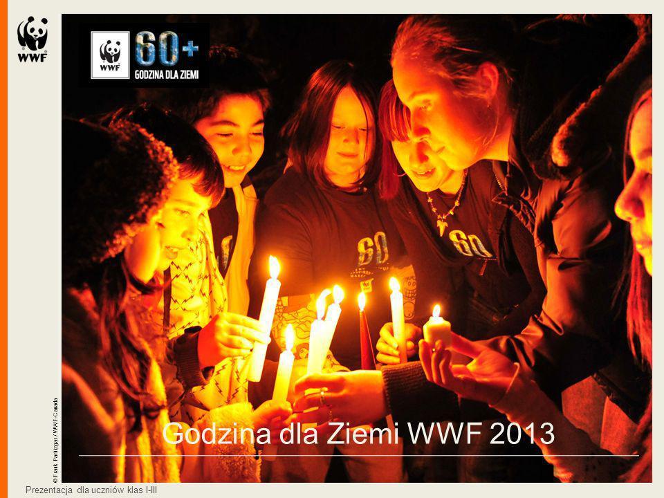 Godzina dla Ziemi WWF 2013 Prezentacja dla uczniów klas I-III