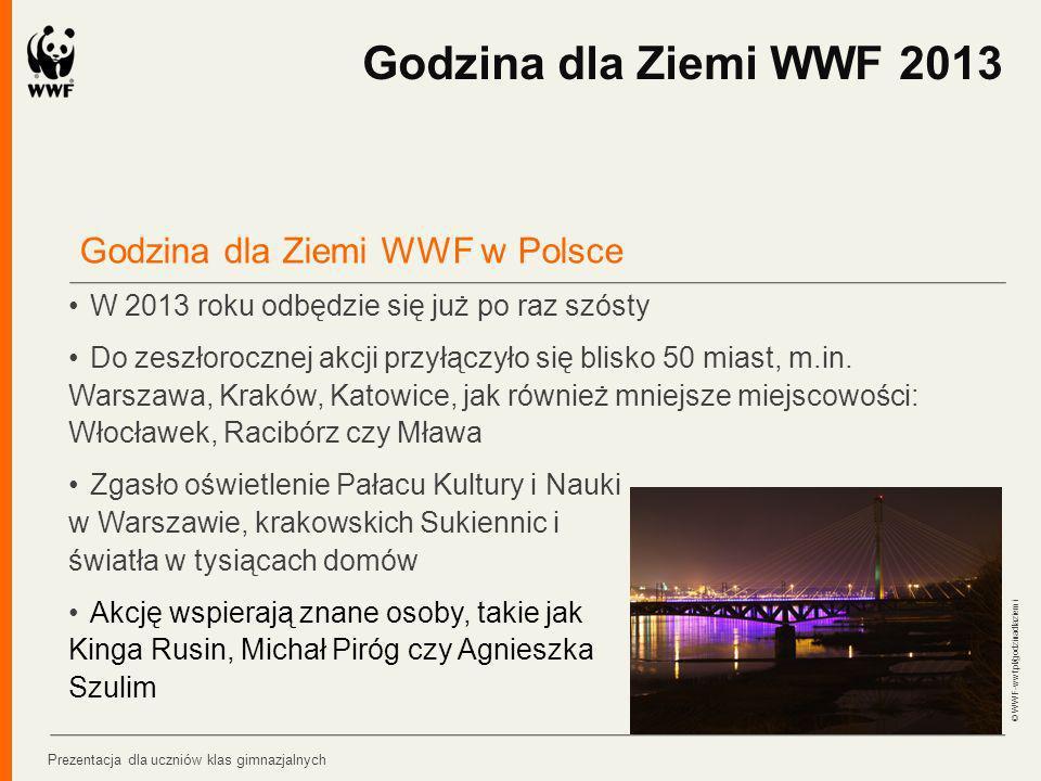 Godzina dla Ziemi WWF 2013 Godzina dla Ziemi WWF w Polsce