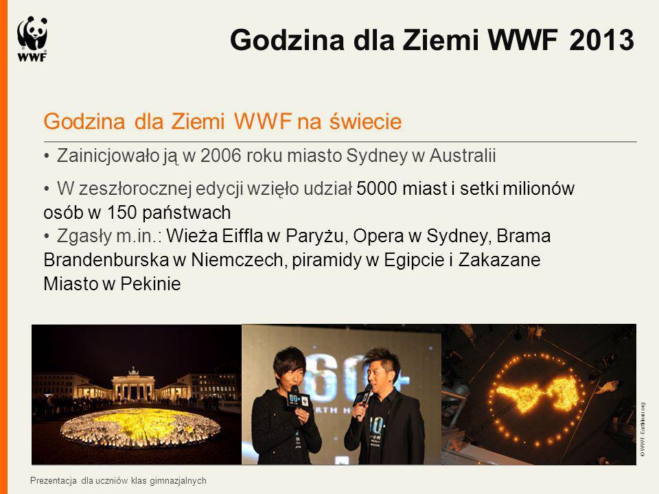 Godzina dla Ziemi WWF 2013 Godzina dla Ziemi WWF na świecie