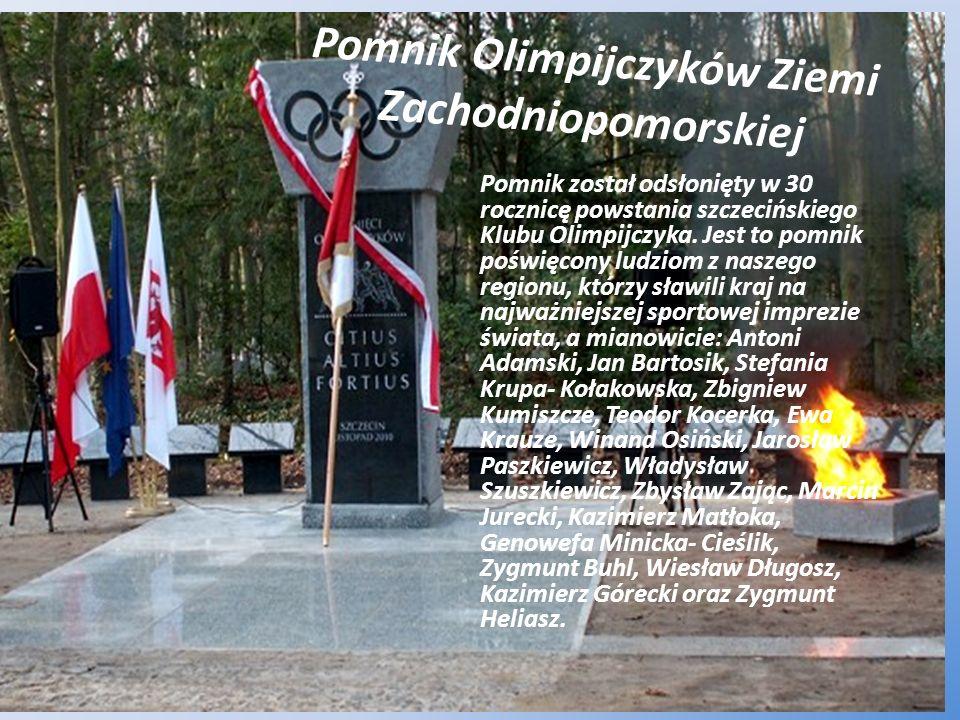 Pomnik Olimpijczyków Ziemi Zachodniopomorskiej
