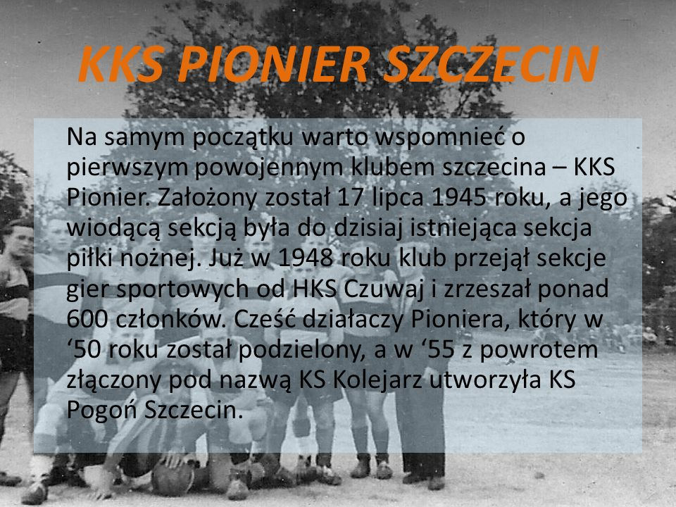 KKS PIONIER SZCZECIN