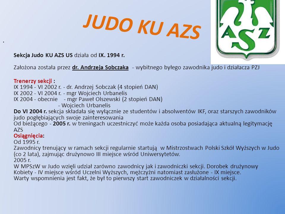 JUDO KU AZS