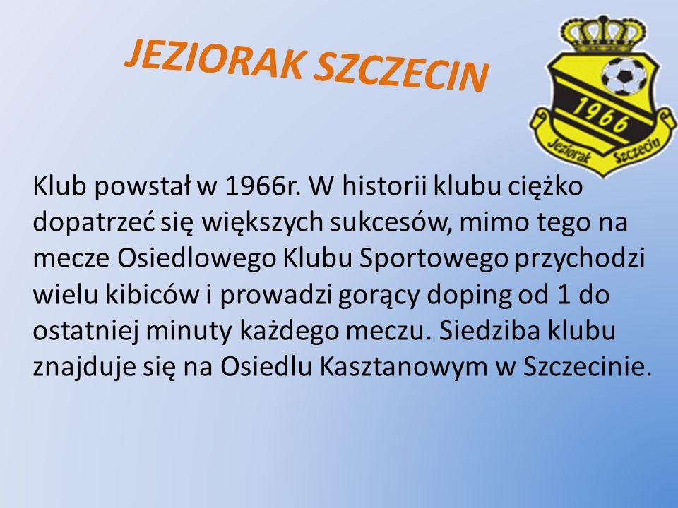 JEZIORAK SZCZECIN