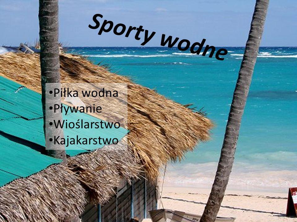 Sporty wodne Piłka wodna Pływanie Wioślarstwo Kajakarstwo