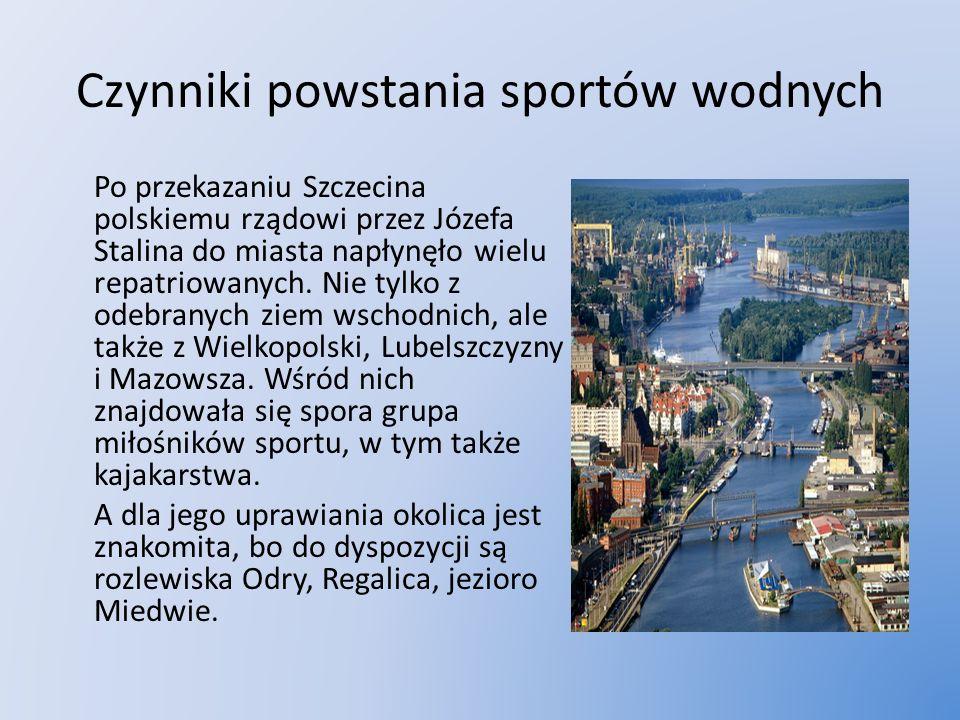 Czynniki powstania sportów wodnych