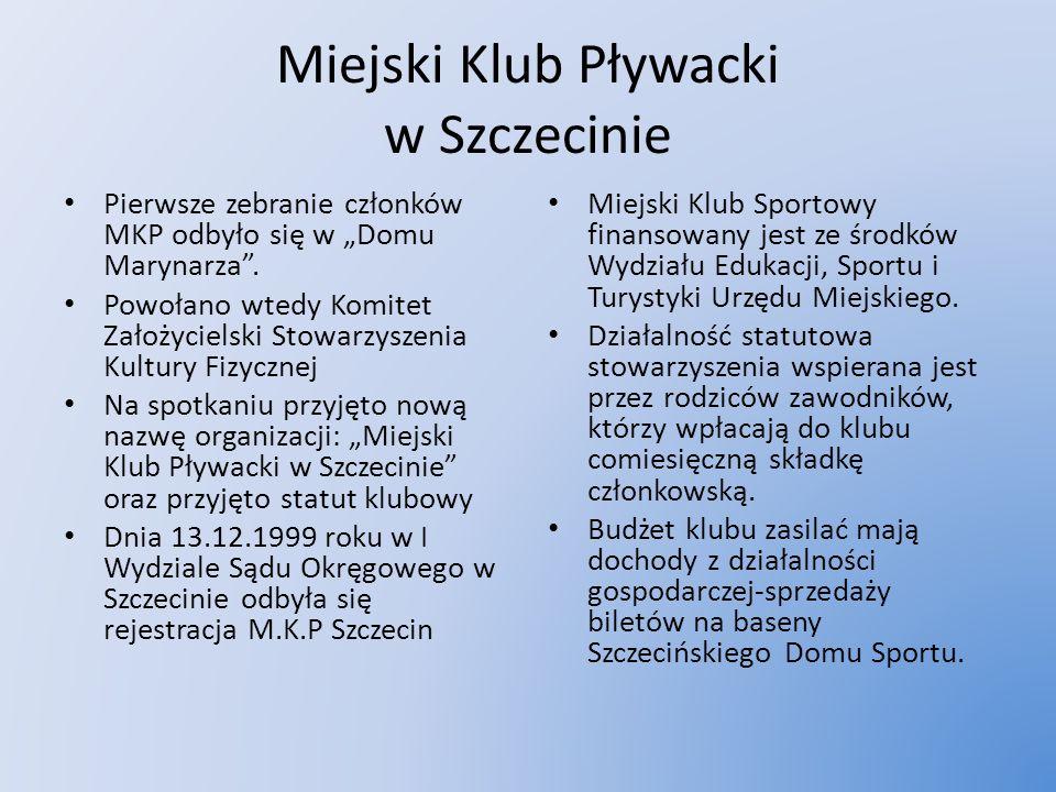 Miejski Klub Pływacki w Szczecinie