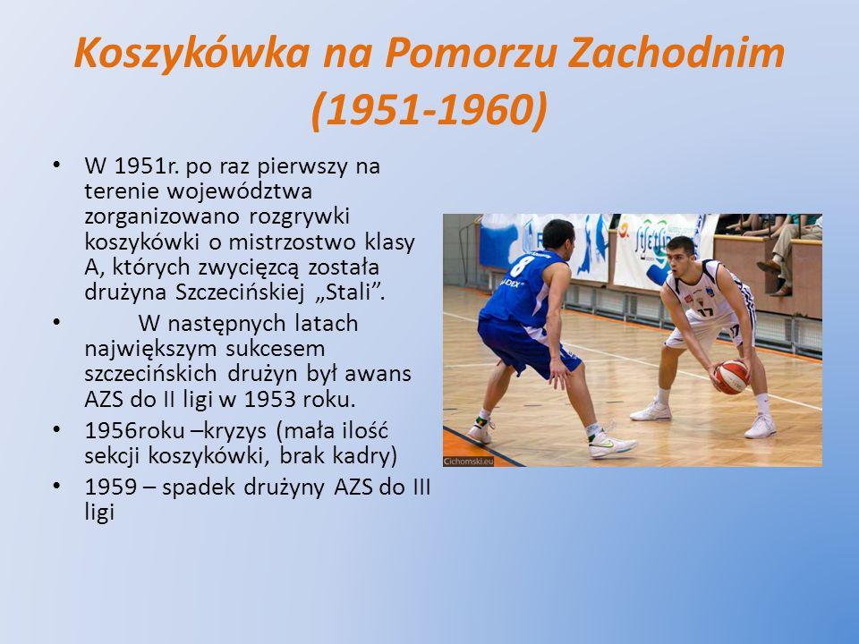 Koszykówka na Pomorzu Zachodnim (1951-1960)