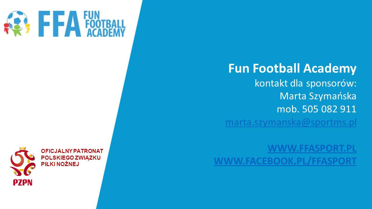 Fun Football Academy kontakt dla sponsorów: