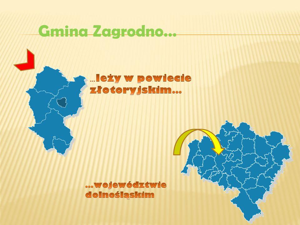 Gmina Zagrodno… …województwie dolnośląskim