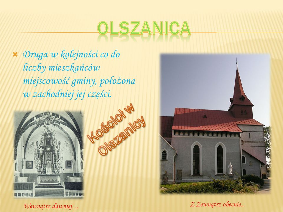 Olszanica Kościoł w Olszanicy