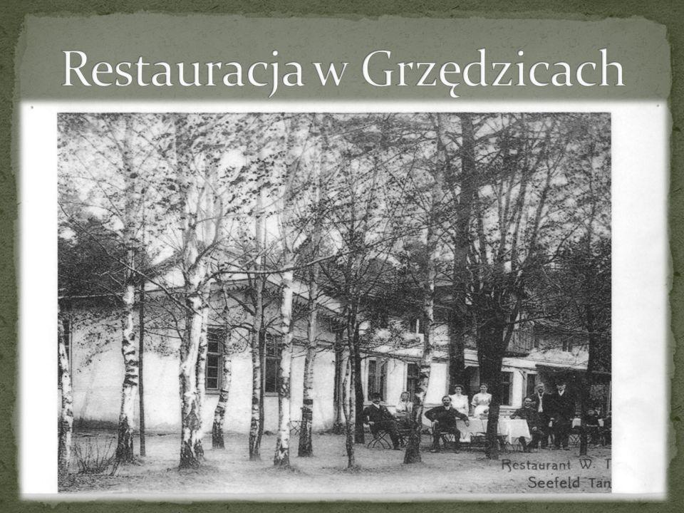 Restauracja w Grzędzicach