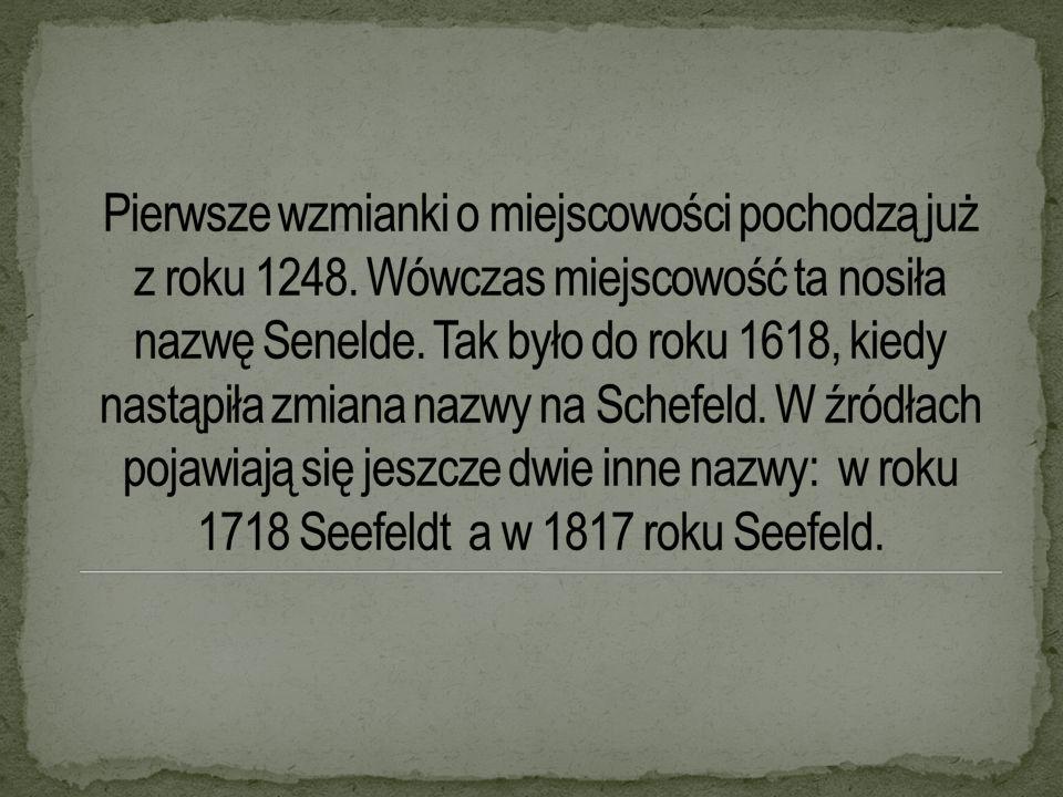 Pierwsze wzmianki o miejscowości pochodzą już z roku 1248