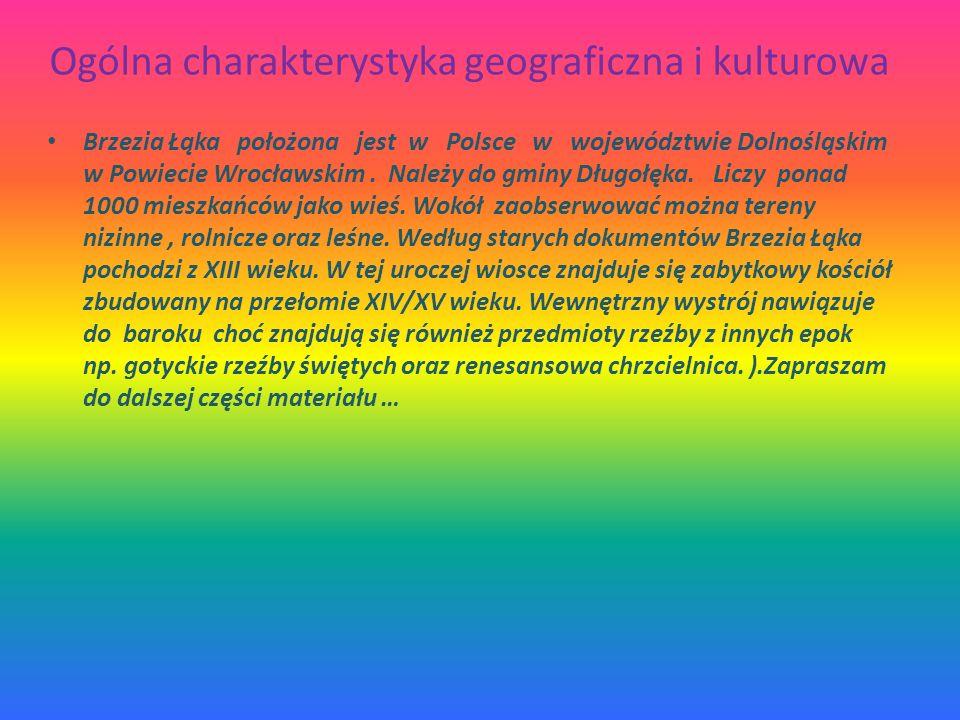 Ogólna charakterystyka geograficzna i kulturowa